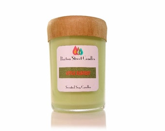 Apple Harvest Scented WoodWick Soy Candle