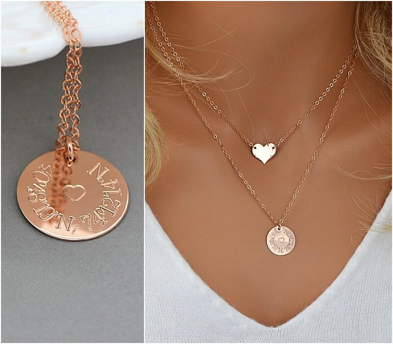 Custom Coordinates Necklace Coordinates Gift Gps