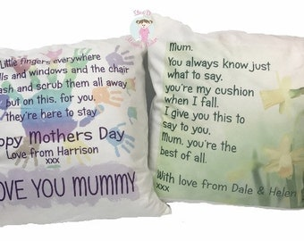Mothers Day Cushion - Personalised