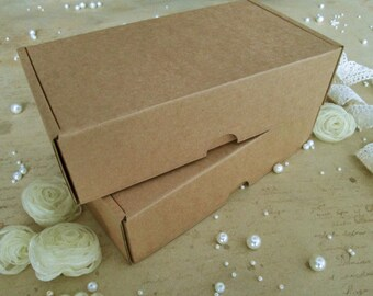 20 Pcs Recycled Cardboard Boxes, 7.17x3.94x1.89in, Recycled Cardboard Boxes, Packaging, Gift Box, Cardboard Box, Wedding Favour Box, Boxes