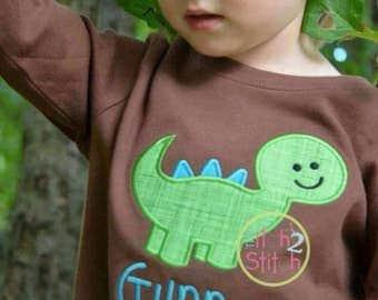 Dino bodysuit or toddler shirt...Dinosaur... Birthday