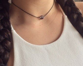 Fluorite Cotton Choker
