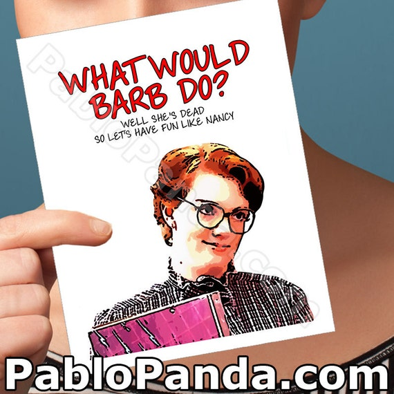 Funny Birthday Card Barbara Holland Gift For Dad Barb