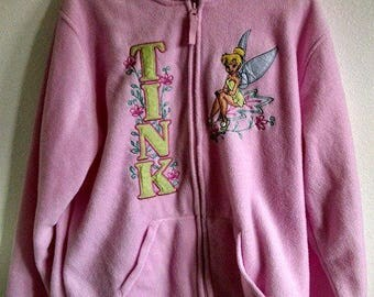 Pink Disney Tinkerbell Fleece Jacket