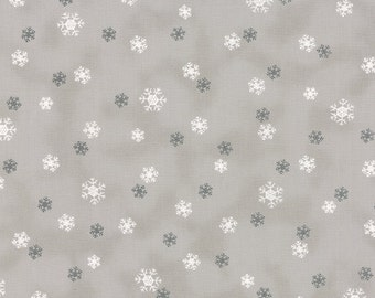 Moda Jol, Half Yard  + Grey Snowflakes, Nordic, Scandinavian Christmas