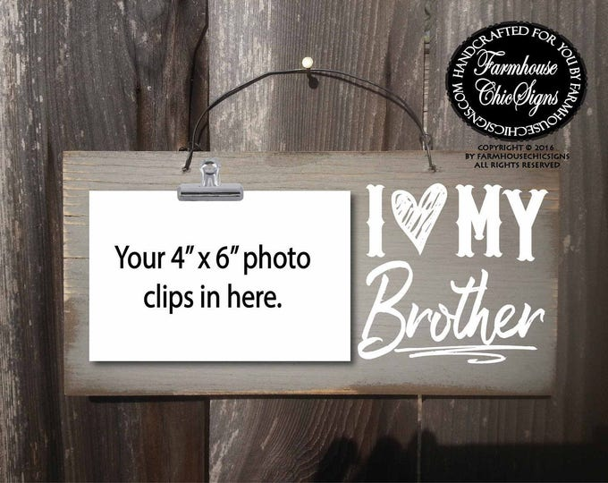 brother, brother sign, gift for brother, Christmas gift for brother, birthday gift for brother, brother gift, brothers, brother signs