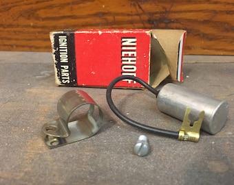 Vintage car parts, Niehoff brand, ignition parts