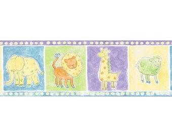 Animals HK13005B Wallpaper Border