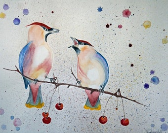 "Giclee print ""Conversation"" - price includes shipping"