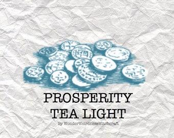 Prosperity Tea Light Candles - 3 pack