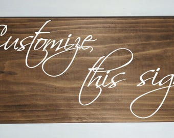 Customized wood sign, custom sign, wood sign, wooden sign, family sign, established, custom wood sign, custom plaque, personalized sign