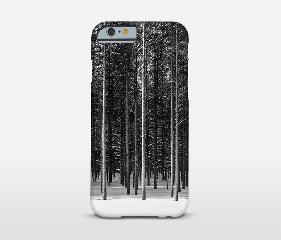 Forest Phone Case, Black And White, Google Pixel Case, iPhone Cases, Samsung Galaxy and more...