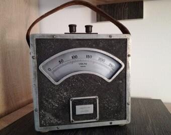 Very old antique volt meter, CROMPTON & CO - England. 1900