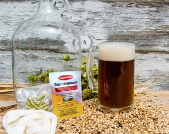 English Brown Ale - Do It Yourself 1-gallon All Grain Recipe Kit