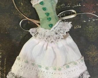 Blythe 2 piece corset and skirt set