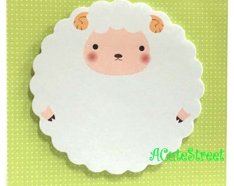 Sheep Post IT Notes Sticky Memo SM102029