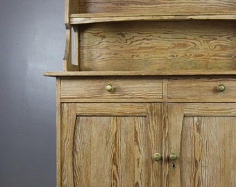 French Pine Dresser