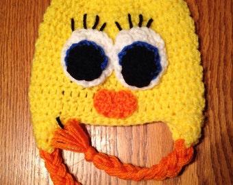 Handmade Tweety Bird Hat