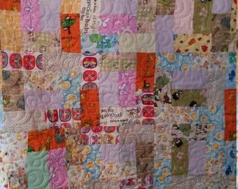 Flannel quilt  60 x 60