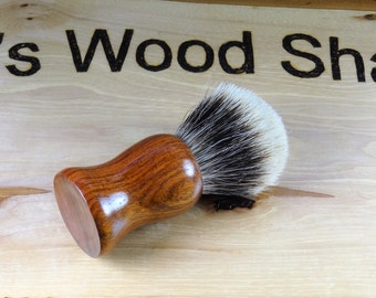 Handmade Burmese Rosewood Super Fine 2-band Badger Shave Brush