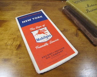 Mobilegas - Miracle Fold Road Map - New York