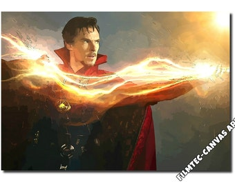 Dr. Strange Inspired Canvas Art Picture(size A1 & A2), New!