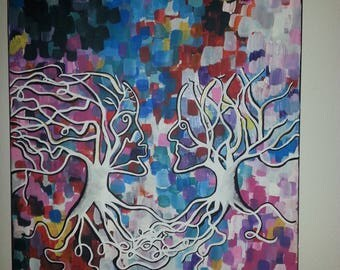 "Black art ""Deeply Rooted"""
