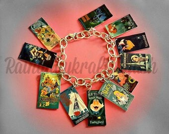 Disney Vintage Ride Themed Charm Bracelet - Disney Vintage - Disney Rides - Nickel Free