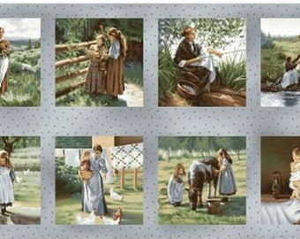 "Pioneer Spirit 24"" x 45"" Panel from Maywood by the panel"