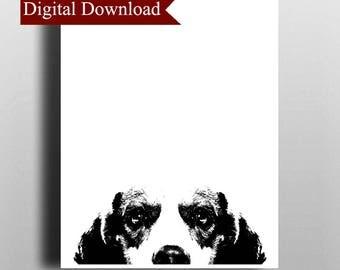 Beagle DIGITAL Print Download