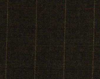 1690/23 Scottish Tweed Fabric 100% Pure Wool By The Metre