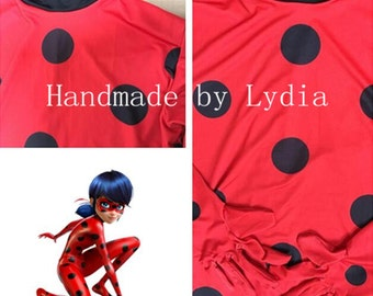 Handmade - Miraculous Ladybug Costume, Miraculous Ladybug Cosplay Adult/kid Available