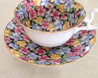 Radfords chintz teacup and saucer