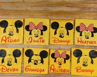 Disney Family shirt - Mickey and minnie custom shirts - FAMILY PACKAGE Grandma Disney shirt - Grandpa Disney shirt