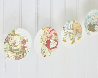 Strawberry Shortcake Bunting Banner Pennant Garland