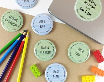 Daddy's Personalised Playtime Tin