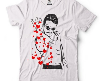 Salt Bae Internet Meme Valentine's Day Love T-shirt Turkish Chef #SaltBae Tee Shirt