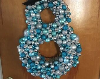 Snowman Ornament Wreath