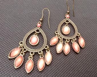 Vintage Fashion Jewellery Drop Earrings.