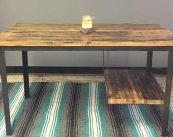 Reclaimed Oak Desk