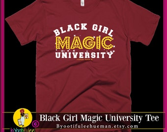 Black Girl Magic University Tee