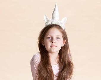 Halloween unicorn bow for girls and women