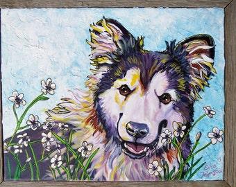 Custom Pet Portrait (acrylic painting)