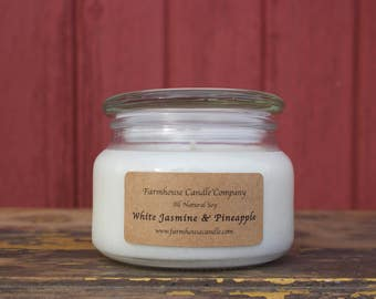 8 oz. Premiumd All Natural Soy Candle