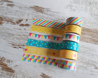 "Washi set ""party"""