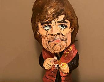 Tyrion Lannister sculpture, Game of Thrones