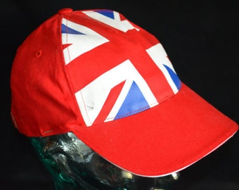 Vintage United Kingdom - England Flag Official Licensed Olympics Hat (One Size Fits All)