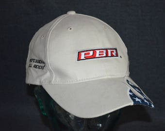 Retro PROFESSIONAL BULL RIDERS Adjustable Baseball Cap Hat (One Size Fits All)