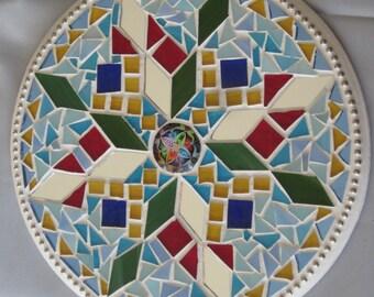 Kaliedoscope Mosaic Wall Hanging