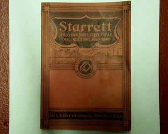 Starrett 1938 catalog no. 26 tool guide